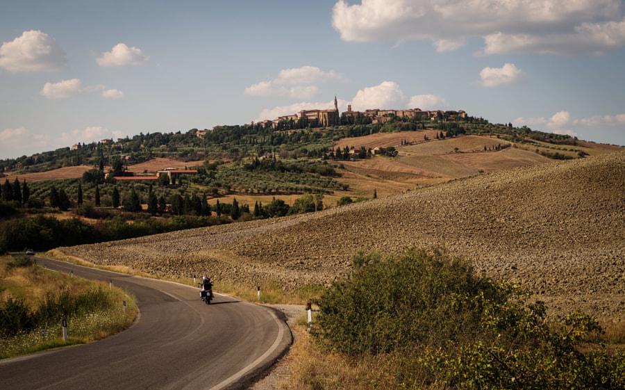 Road to Pienza Italy