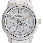 Постер, плакат: Casio Sheen SXSHE D ADR SilverFSilver Analog Watch product