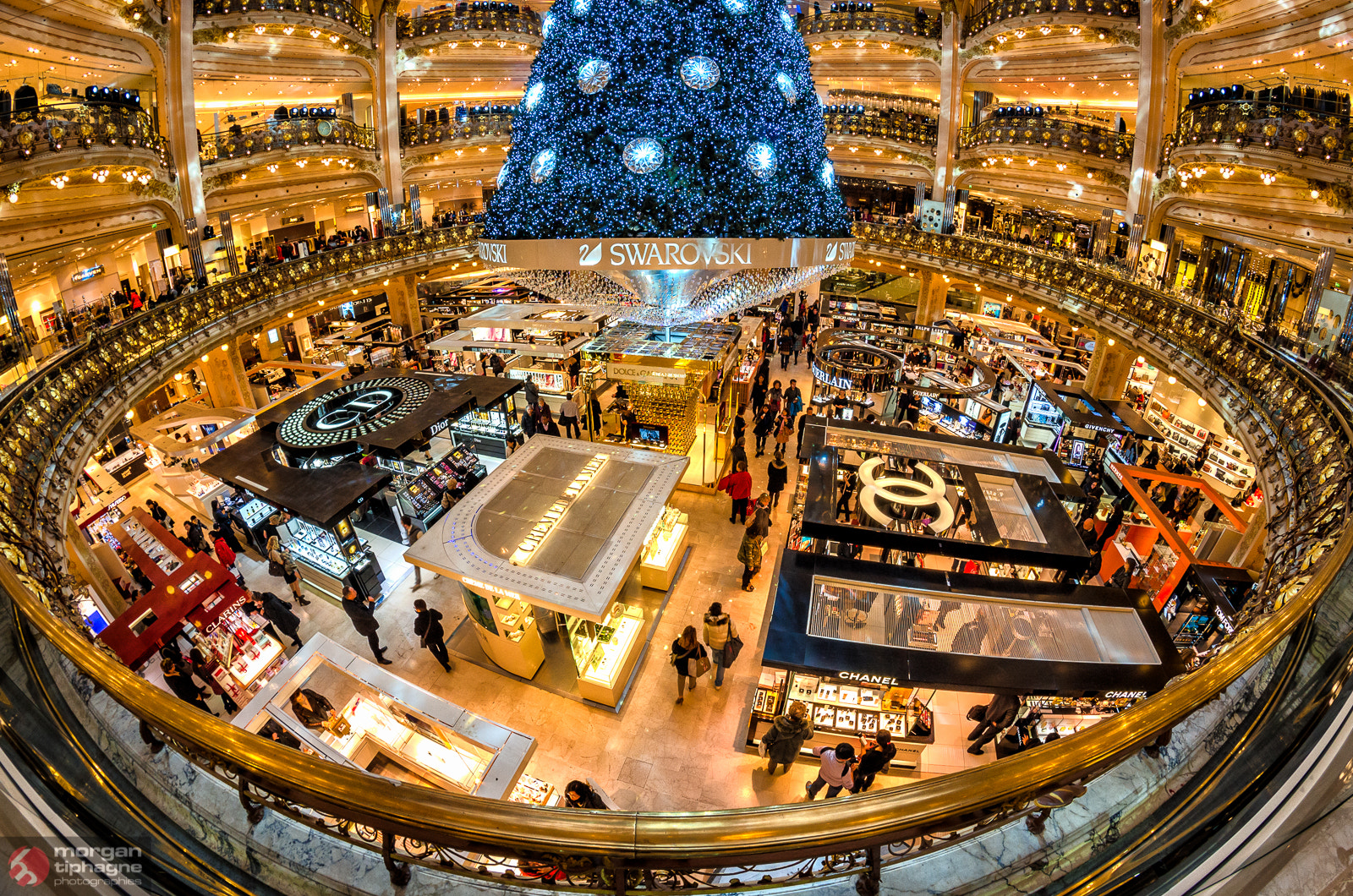 Photograph Galeries Lafayette by Morgan Tiphagne on 500px