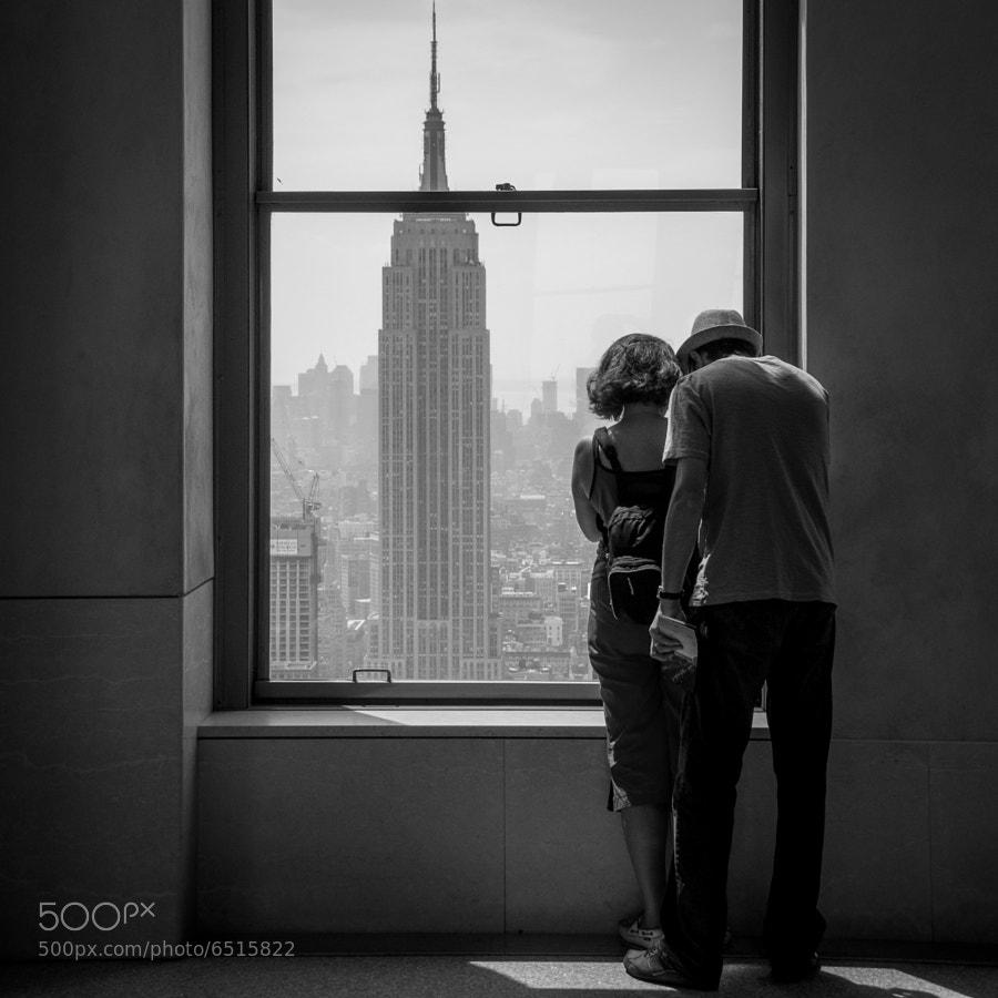Top of the Rock, Rockfeller Center, Manhattan, NYC  © Vitaliano Vitali, all rights reserved