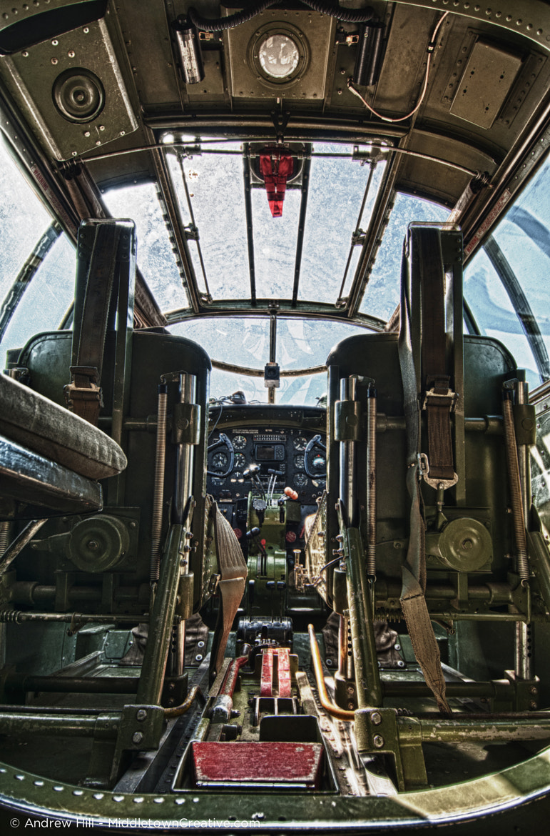 Photograph B-25 Cockpit by Andrew Hill on 500px