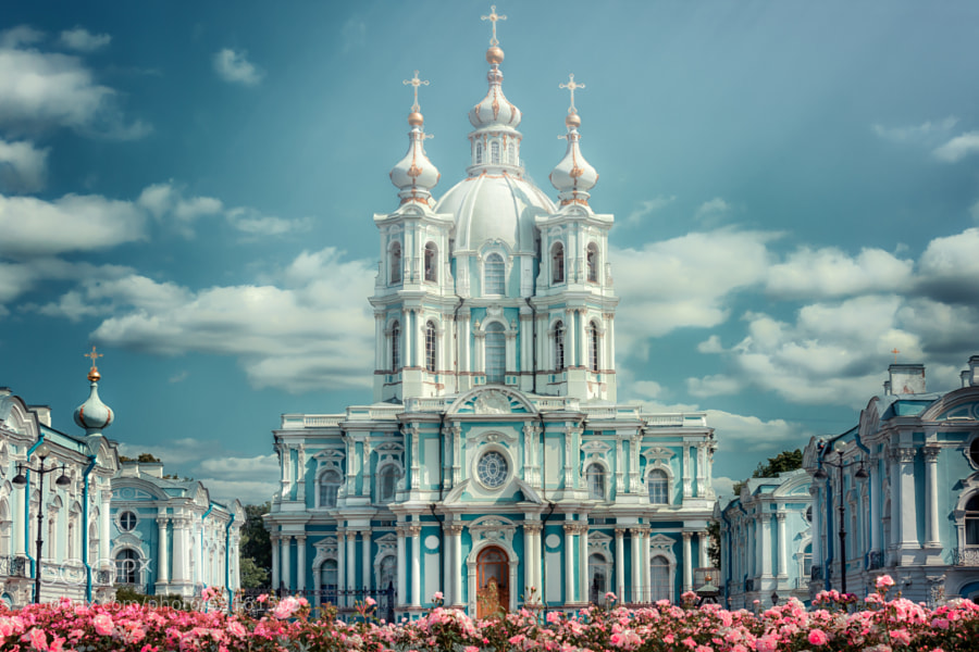 Photograph Smolny by Andrew Vasiliev on 500px
