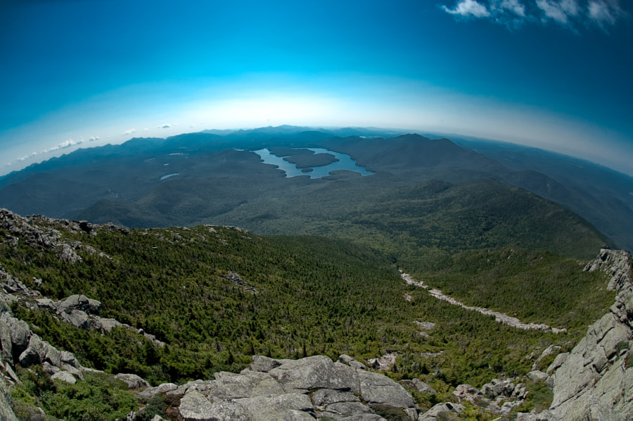 ...from the top of Whiteface