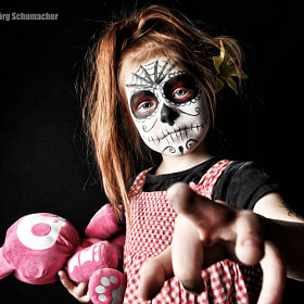 Candy Skull - Makeup