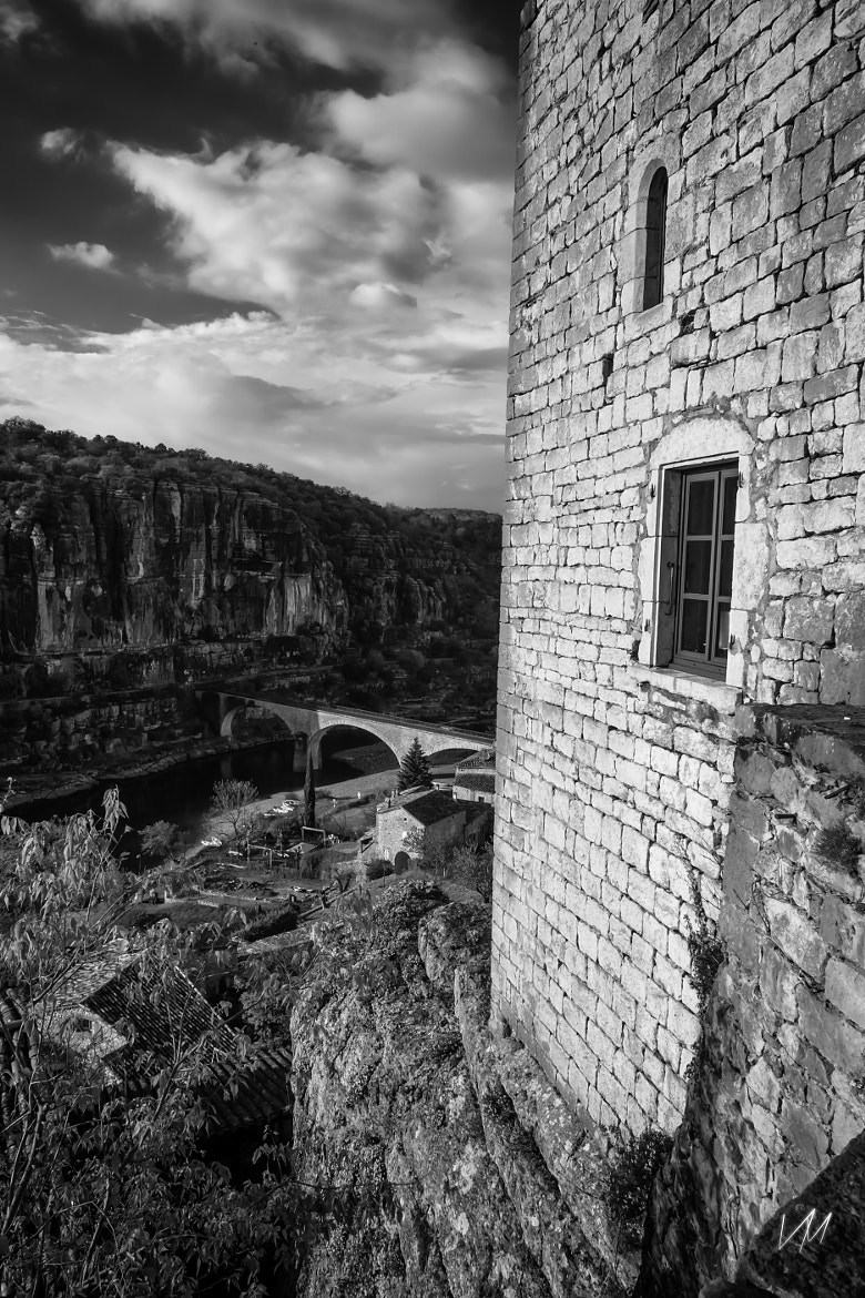 Photograph Ardeche river from the castle by Vincent Meron on 500px