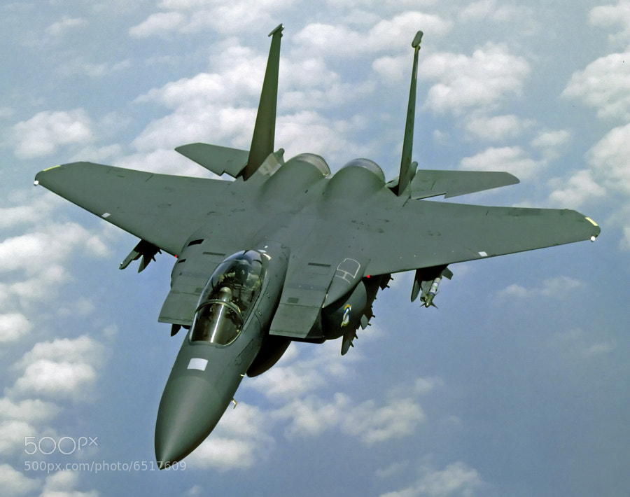 F-15E Strike Eagle assigned to the 4th TFW shortly after the conclusion of OPERATION DESERT STORM.