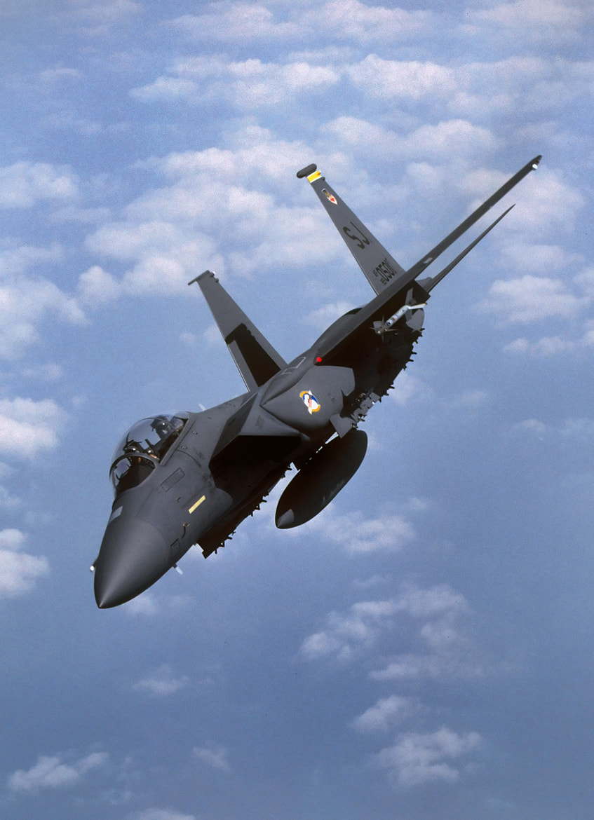 Photograph OPERATION DESERT STORM STRIKE EAGLE by David F. Brown on 500px