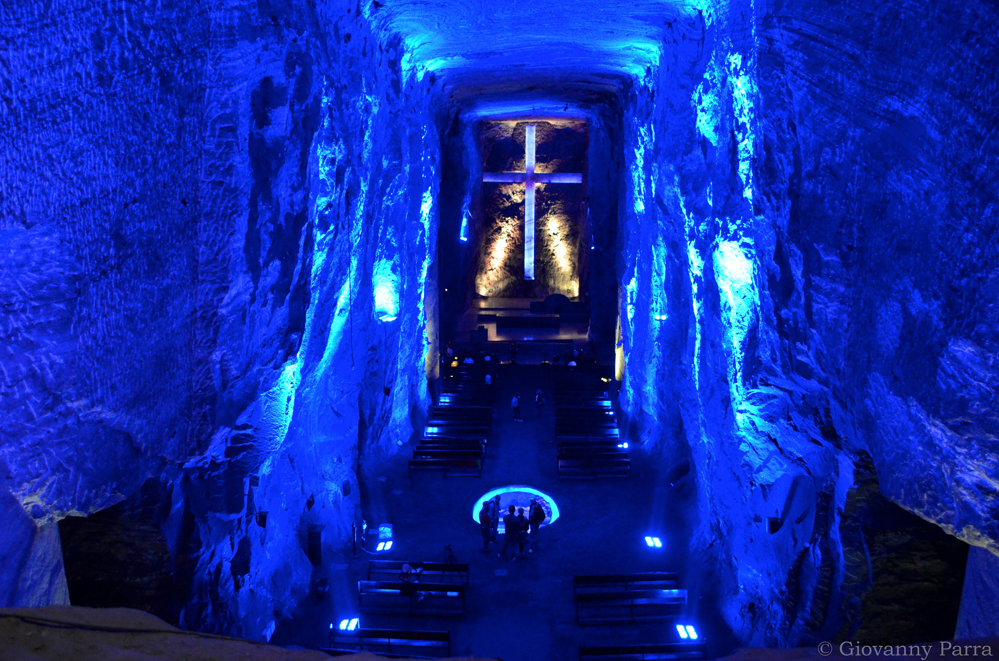Photograph Catedral de Sal Zipaquirá - Salt Cathedral by Giovanny Parra on 500px