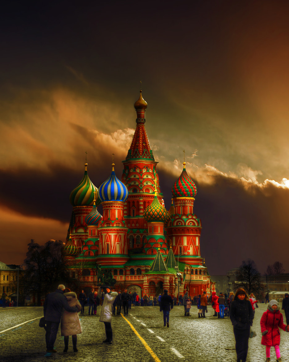 Photograph St. Basil's Cathedral by Gürkan Gündoğdu on 500px