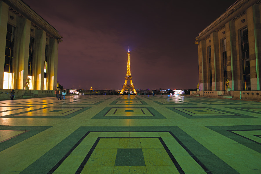 View from Trocadero.