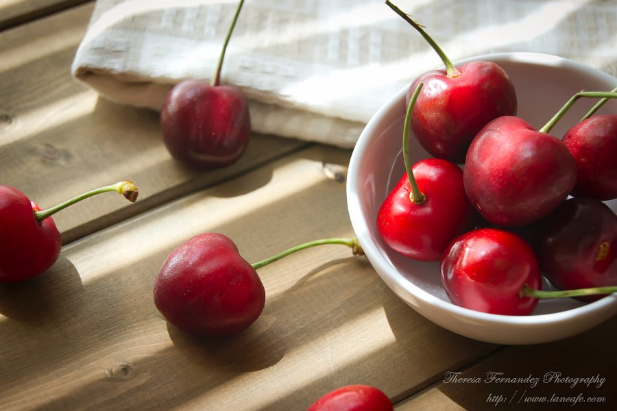 Photograph Bowl of cherries by Theresa Fernandez on 500px