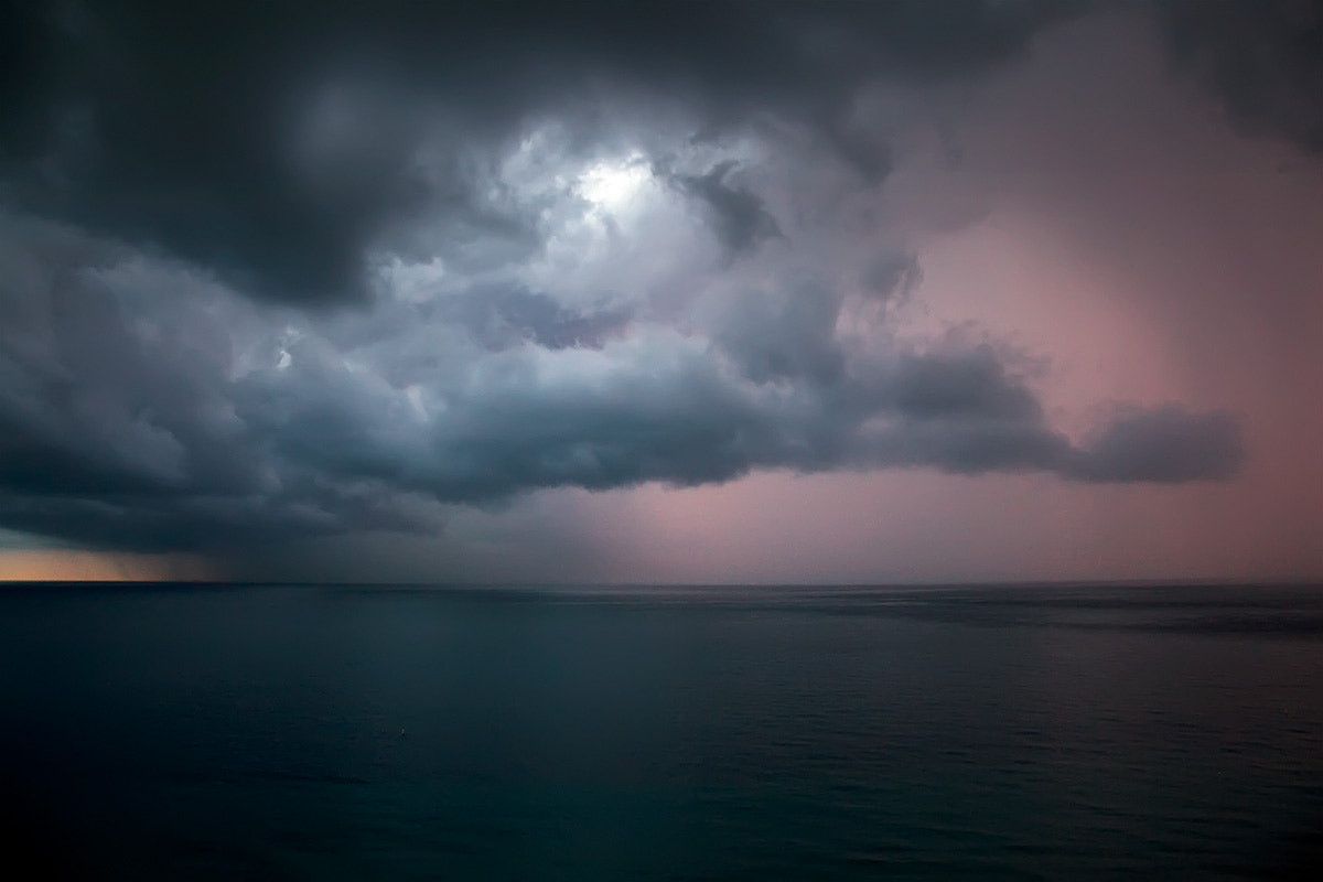 Photograph Sunrise & Storm by Mike Wong on 500px