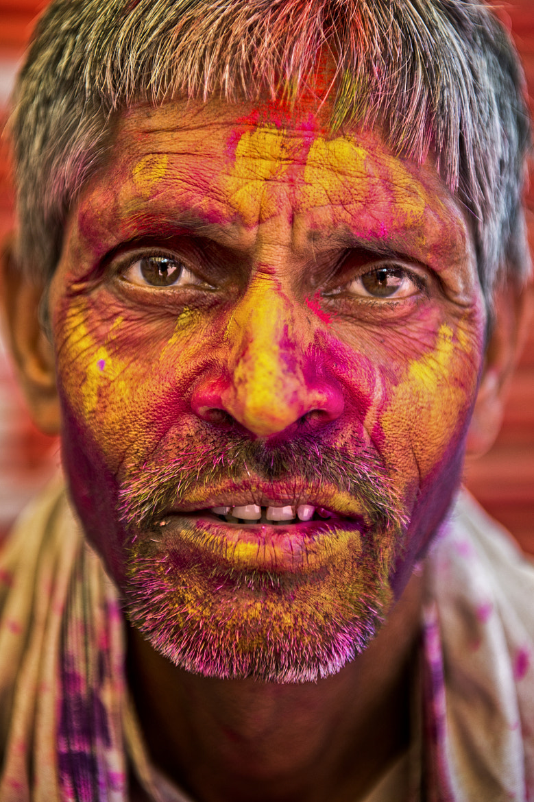 Photograph holi portrait #3 by Yaman Ibrahim on 500px