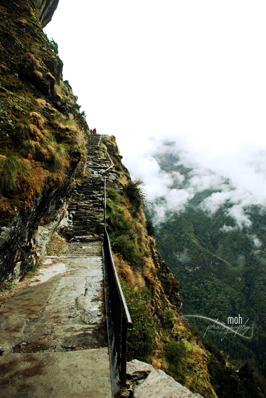 Photograph Stairway to the Cloud by Mohan Duwal on 500px