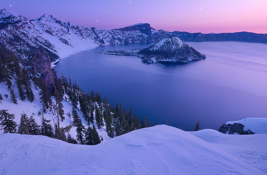 Photograph What Dreams Become - Crater Lake, Oregon by Dave Morrow on 500px