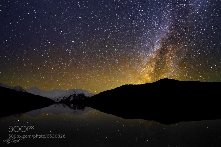 Photograph Rising Milkyway.. by Atif Saeed on 500px