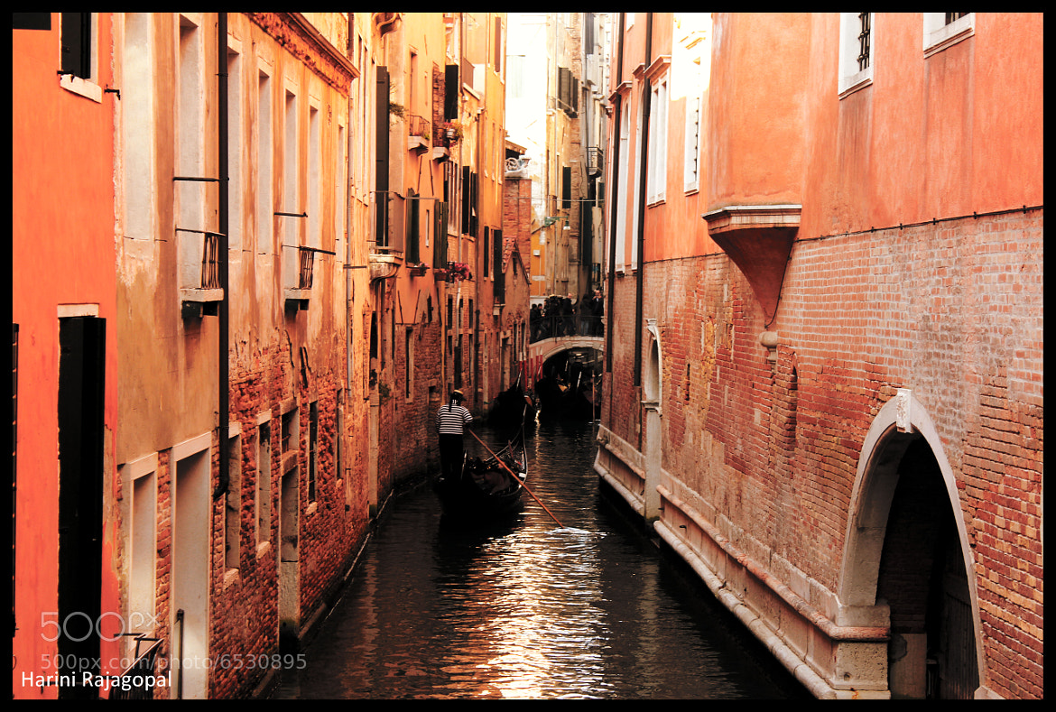 Photograph I will take you through narrow canals... by HARINI RAJAGOPAL on 500px