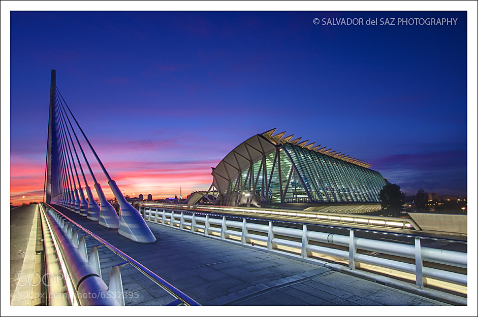Photograph The Science Museum and the New Bridge by Salvador del Saz on 500px