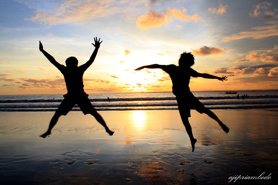 Photograph Dance on Sunset II by aji priambodo on 500px
