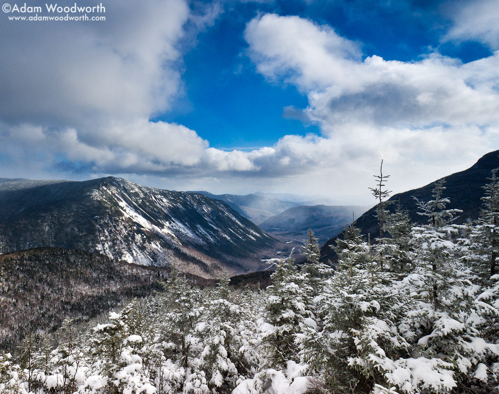 Photograph Crawford Notch From Mt. Avalon by Adam Woodworth on 500px
