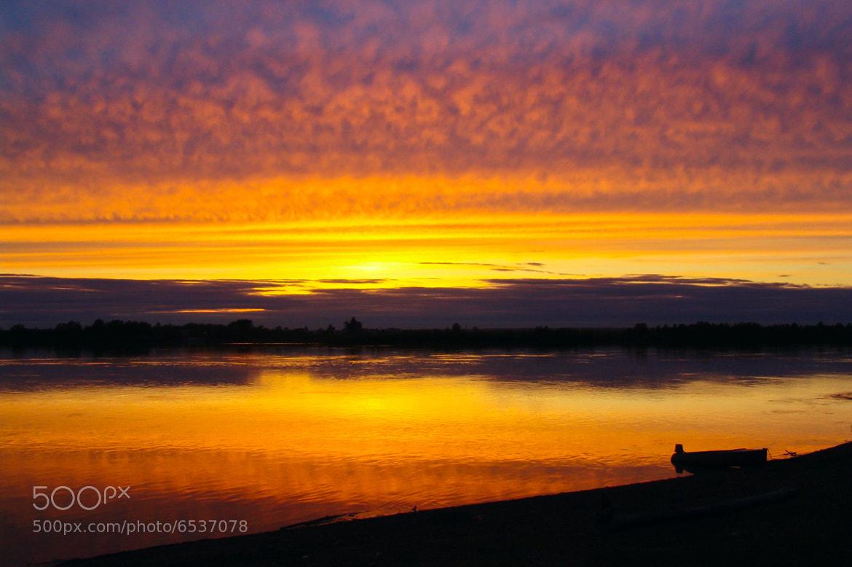 Photograph Siberian sunset by Roman Suslenko on 500px