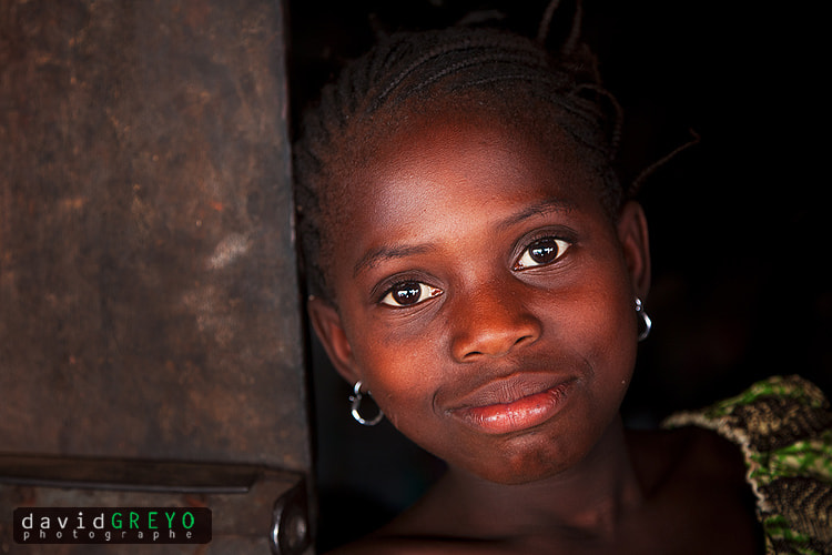 Photograph Girl in Guinea by David Greyo on 500px