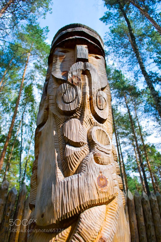 Photograph Slavic pagan idol by Roman Suslenko on 500px