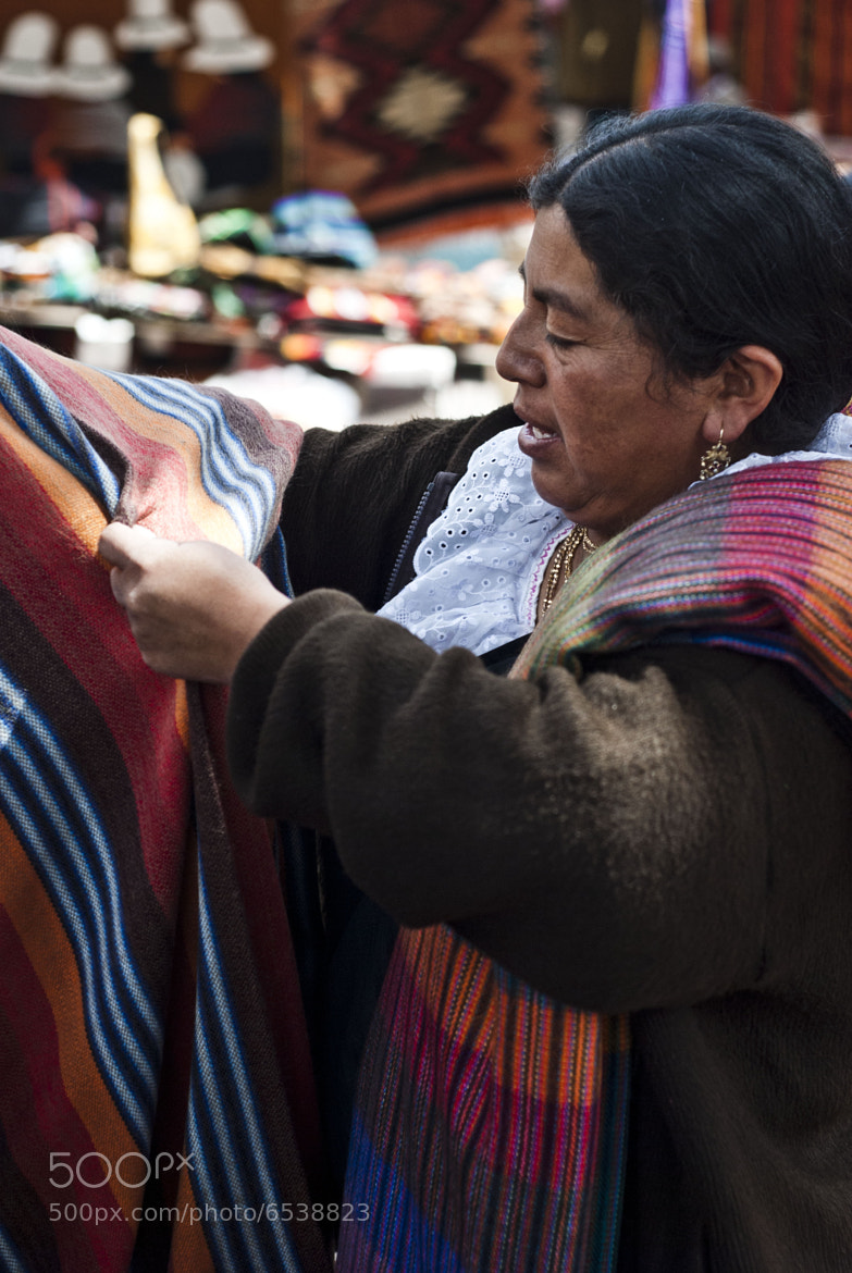 Photograph Otavalo saleswoman by Andrew Jackson on 500px