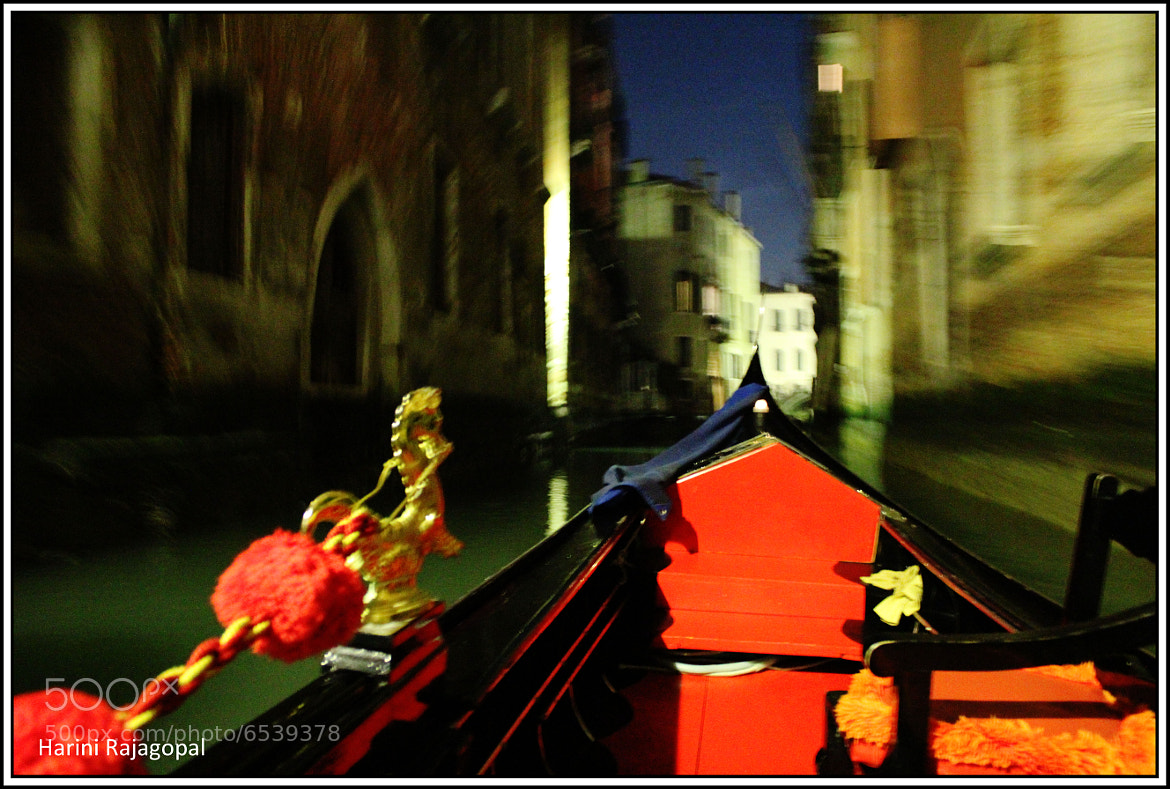 Photograph Gondola Ride, Venice by HARINI RAJAGOPAL on 500px