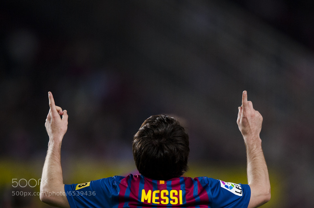 Photograph Lionel Messi by Daniel Tejedor on 500px
