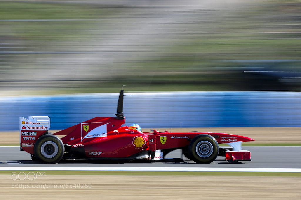 Photograph Fernando Alonso in Jerez by Daniel Tejedor on 500px