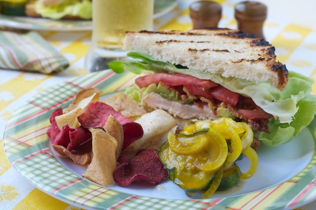 Photograph BLT with quick bread and butter pickles by Sean Timberlake on 500px