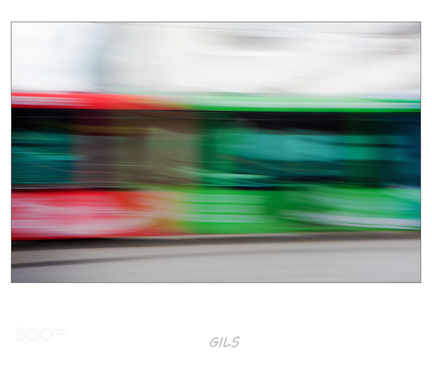 Photograph The Rotterdam tram by Gilbert Claes on 500px