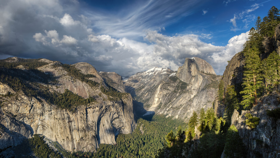 Half Dome from Four Mile Trail