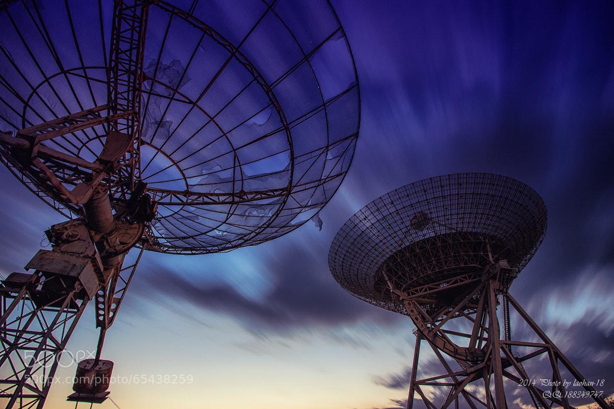 Photograph radio telescope by qiao liang on 500px