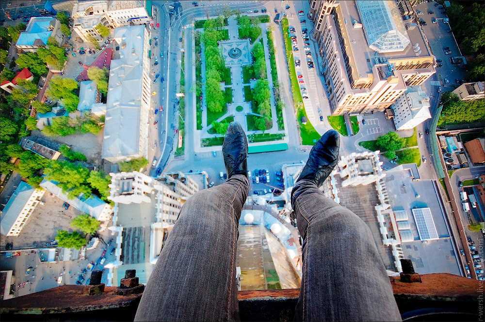 Photograph Acrophobia by Roman Wershinin on 500px