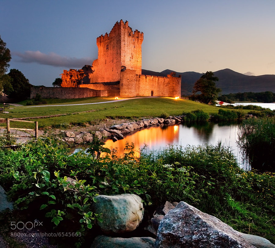 Photograph Ross Castle Killarney by Stephen Emerson on 500px