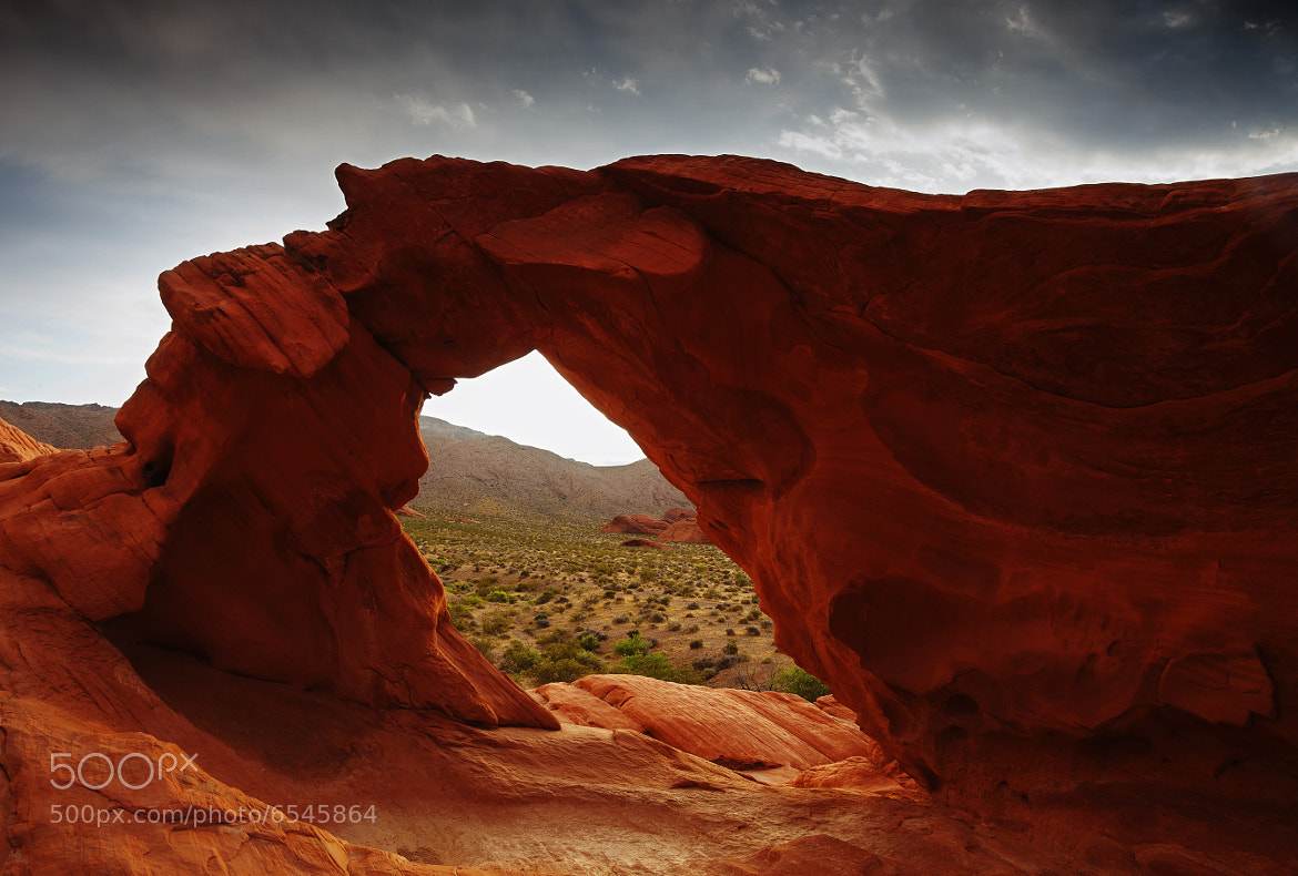 Photograph Valley of Fire Arch by Eric Whipp on 500px