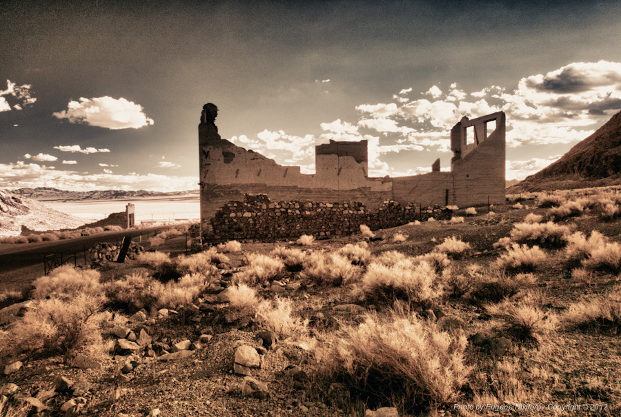 Photograph Rhyolite Ghost Town, Nevada by Eugene Nikiforov on 500px