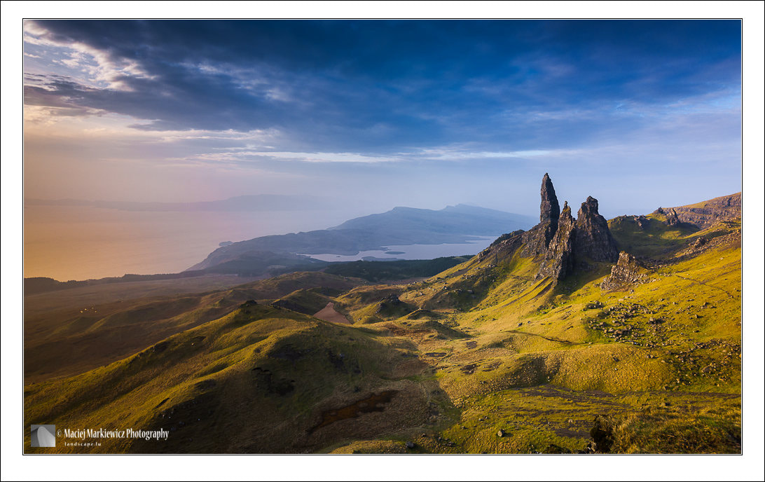 Photograph Sunrise over the old Man of Storr by Maciej Markiewicz on 500px