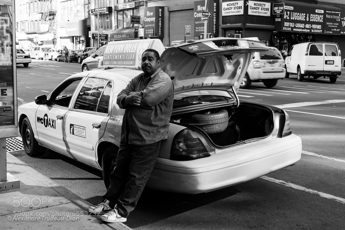 Photograph NYC TAXI 9853 & Driver by Alexandre Trudeau-Dion on 500px