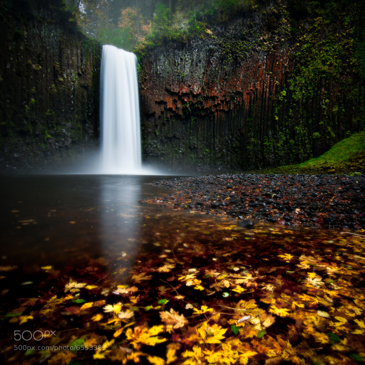 Photograph Abiqua Falls by Jay D. on 500px