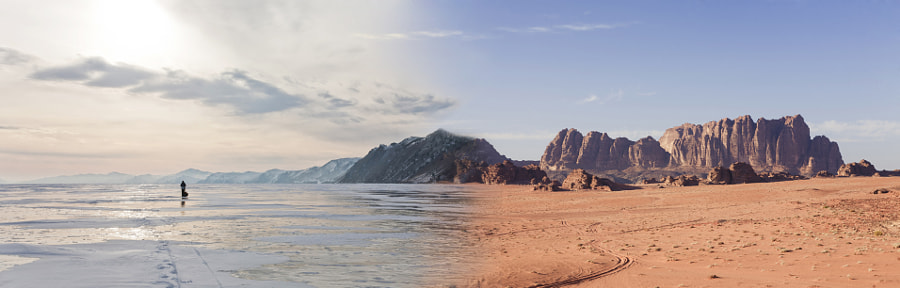 Baikal Rum or Wadi Baikal? by Olga Galkina on 500px.com