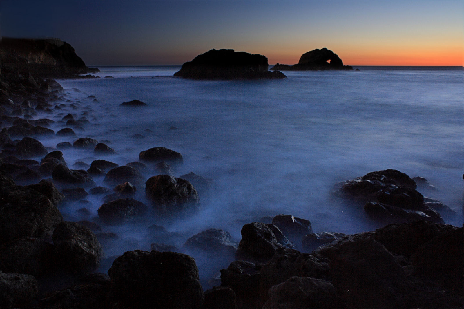 Photograph Sutro Baths Sunset by Greg K on 500px