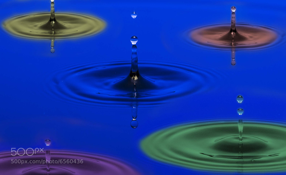 Photograph color drops by Brian Morris on 500px
