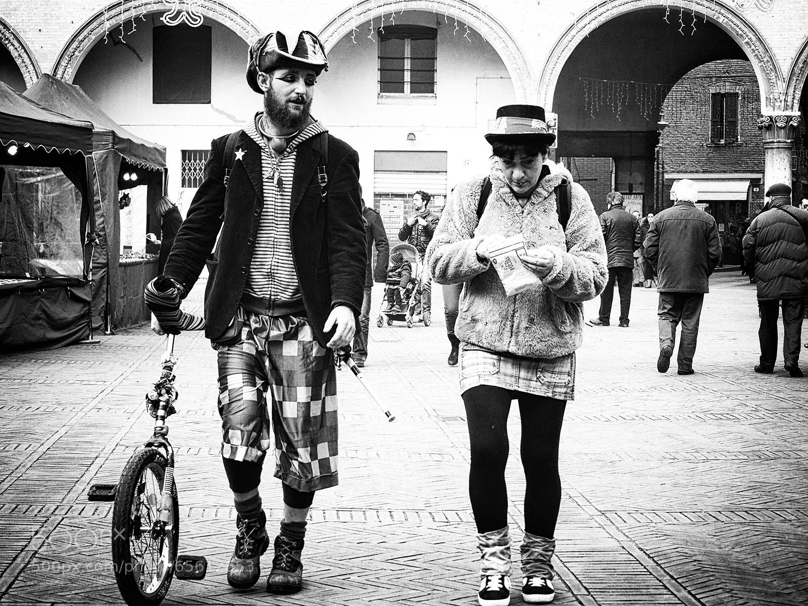 Photograph clown by Stella Trasforini on 500px