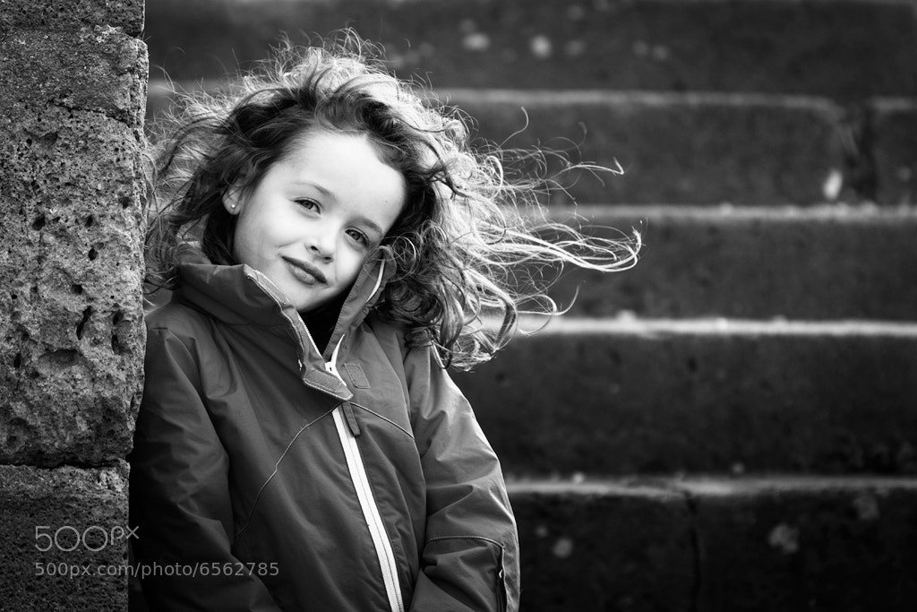 Photograph Cheveux au vent by DOUCHE Ludovic on 500px