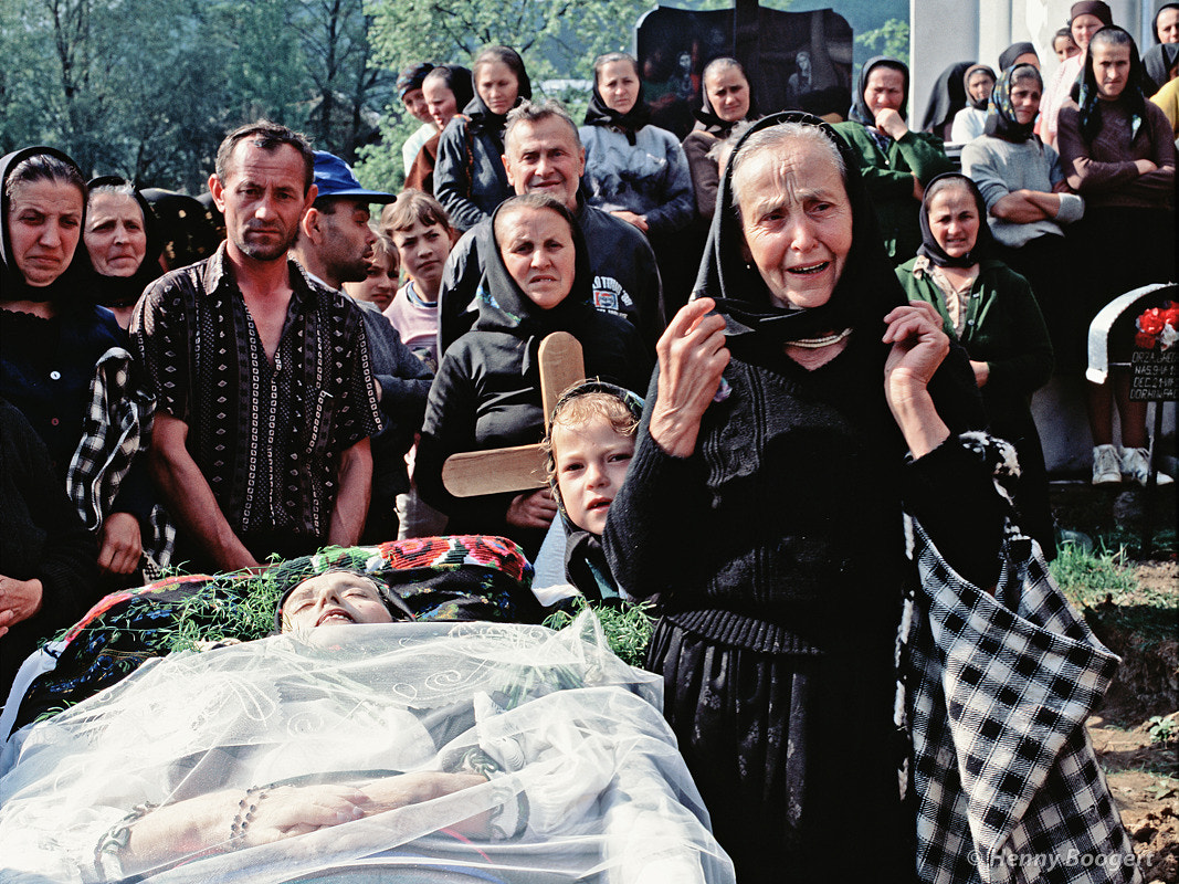 Photograph Romanian Funeral by Henny Boogert on 500px