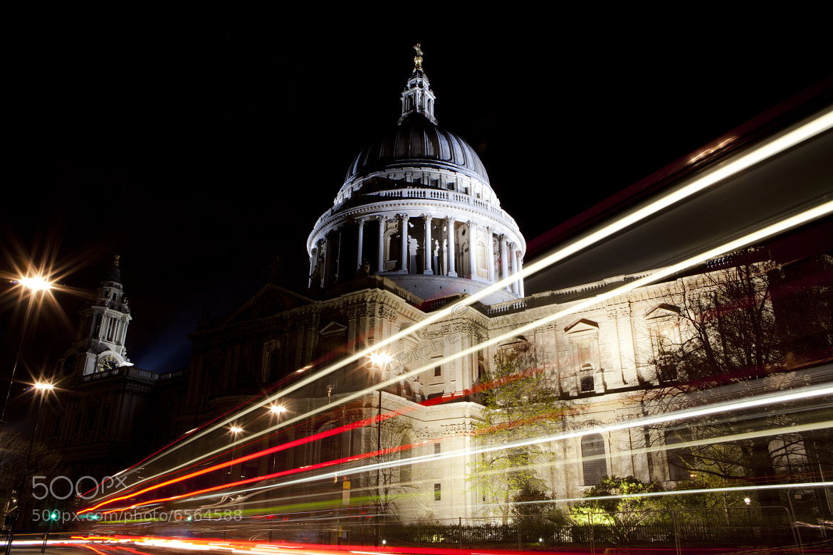 Photograph St. Paul's Cathedral London by Claudiu Bichescu on 500px