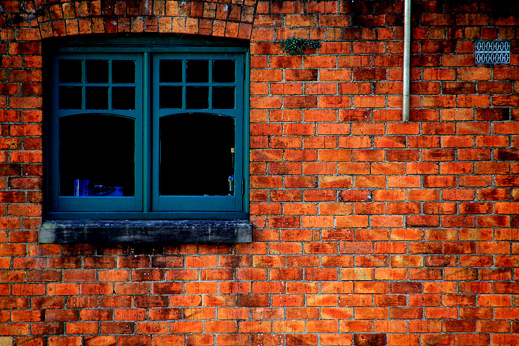 Photograph Windows + Brick Wall. by Paul Law on 500px